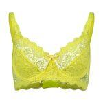 سوتین زنانه مدل لیدا رنگ زرد فسفری thumb