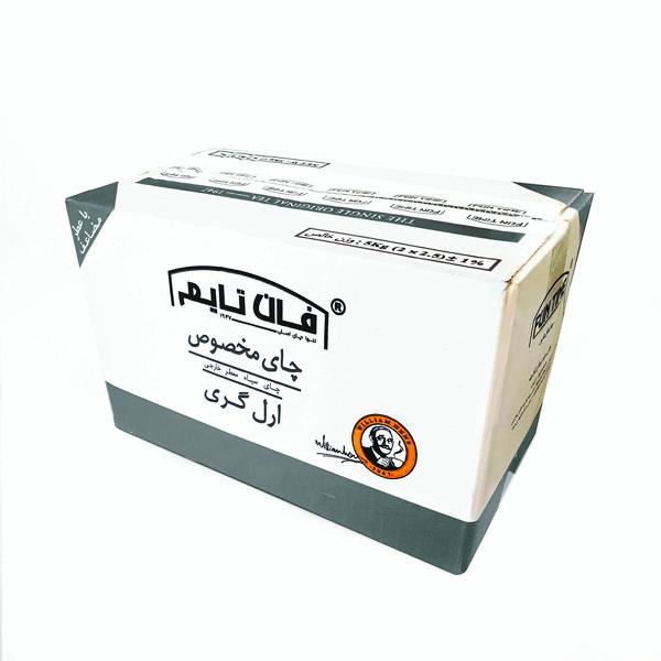 چای سیاه ارل گری فان تایم - 5 کیلوگرم
