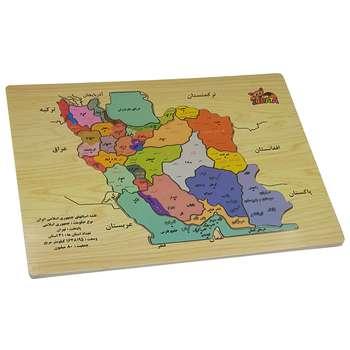 پازل 24 تکه طرح نقشه ایران