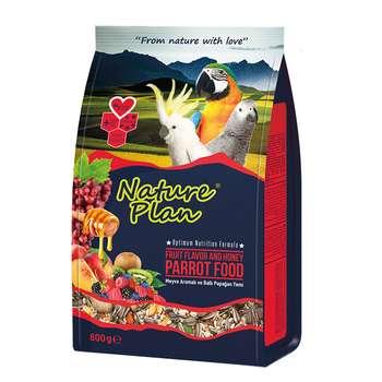 غذای طوطی سانان نیچر پلن کد 3010 وزن 800 گرم