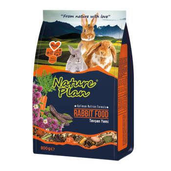 غذای خرگوش نیچر پلن مدل Rabbit Food وزن 800 گرم