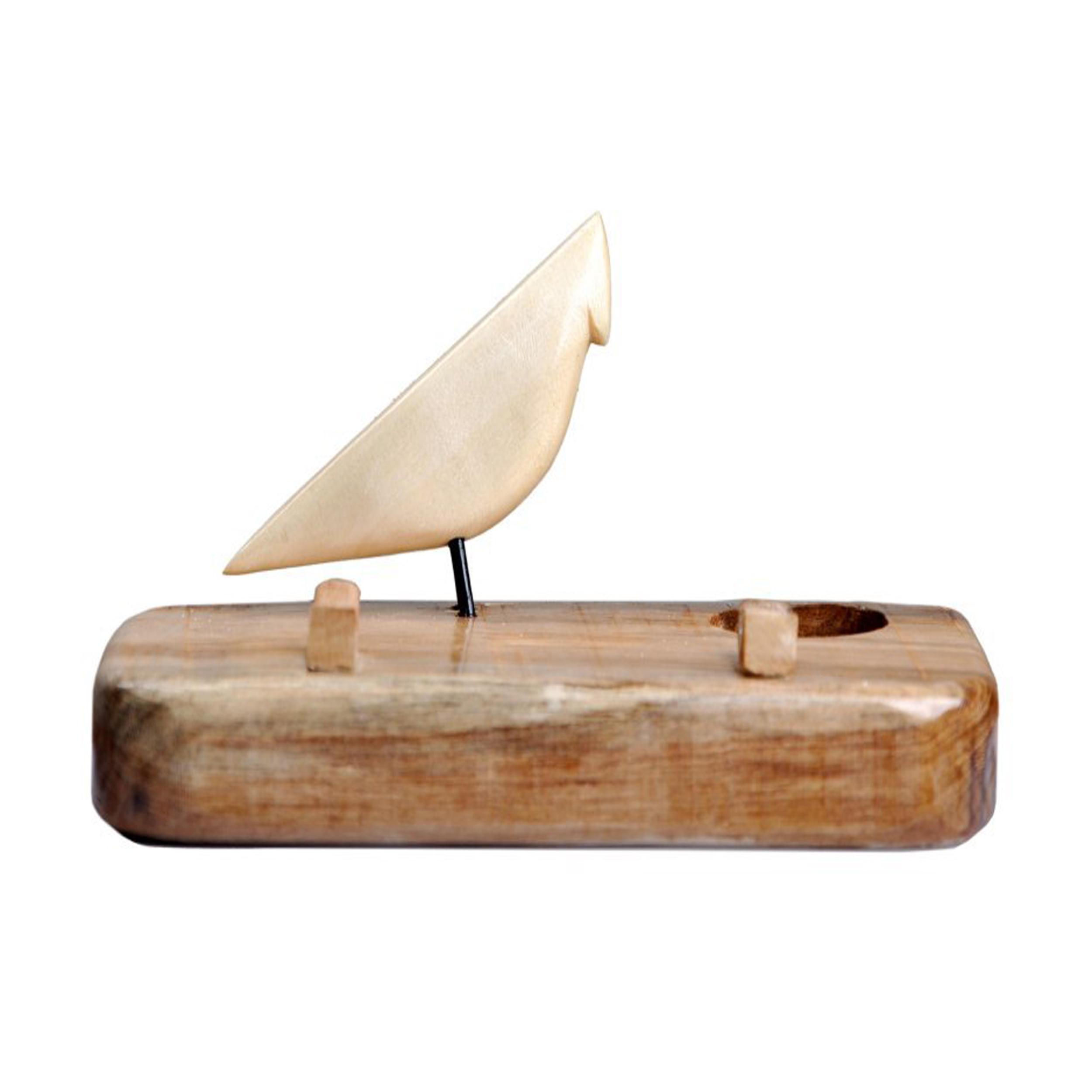 خرید                      جا شمعی طرح پرنده کد 0074
