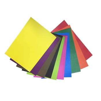 مقوا رنگی کد 10 سایز 21x30 سانتی متر بسته 30 عددی