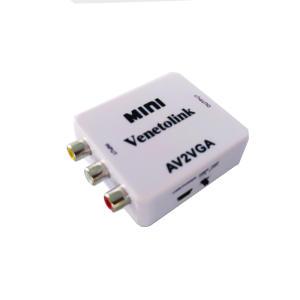 مبدل AV به VGA/AUX مدل MINI
