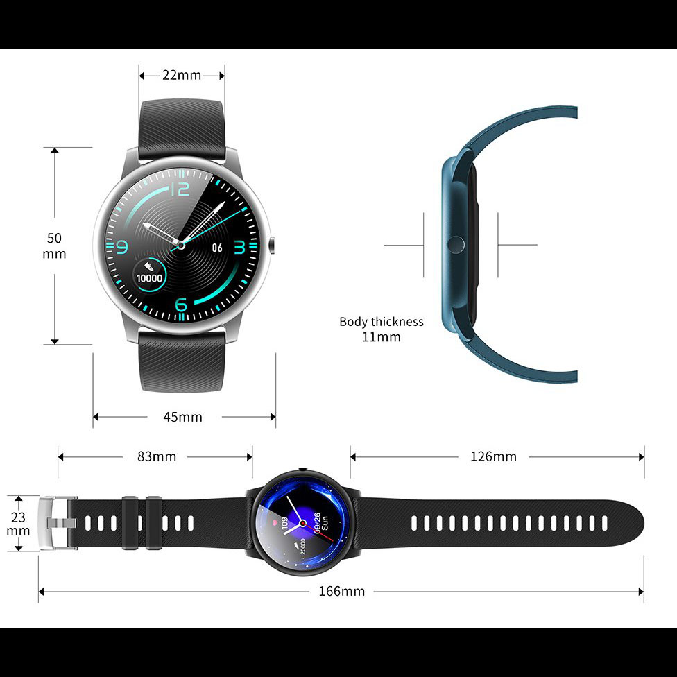 خرید اینترنتی ساعت هوشمند کینگ ویر مدل KW40 اورجینال