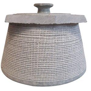 ظرف دیزی سنگی مدل باراباس کد  DZ1414