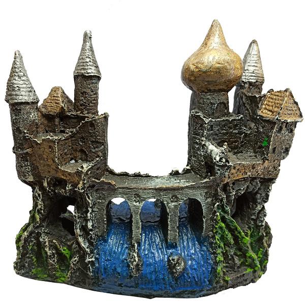 قلعه تزئینی آکواریوم مدل رودخانه کد 504