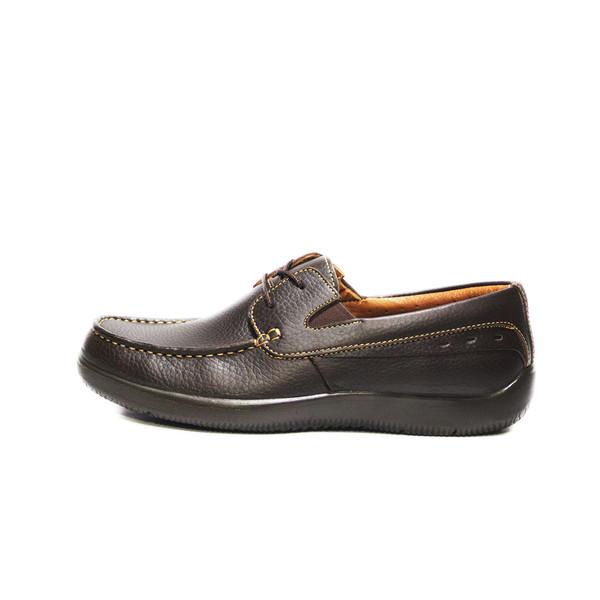 کفش روزمره مردانه فرزین کد kbb 014 رنگ قهوه ای