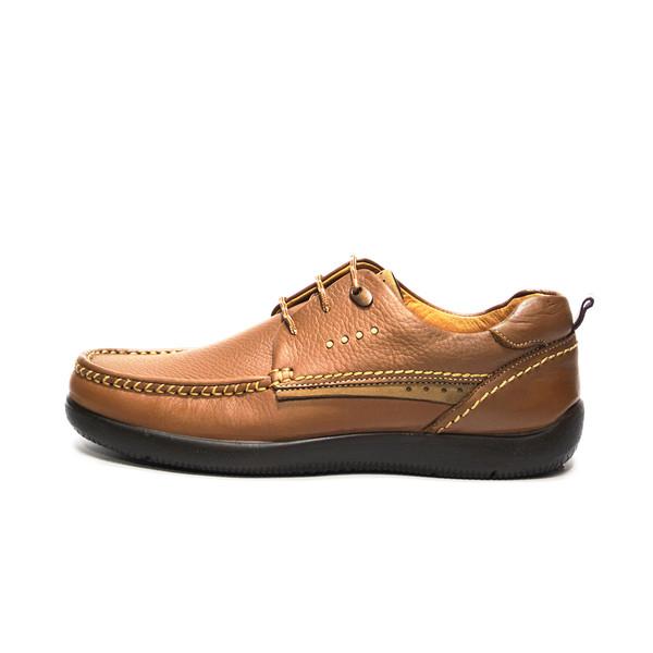 کفش روزمره مردانه فرزین کد kpbw 018 رنگ گردویی