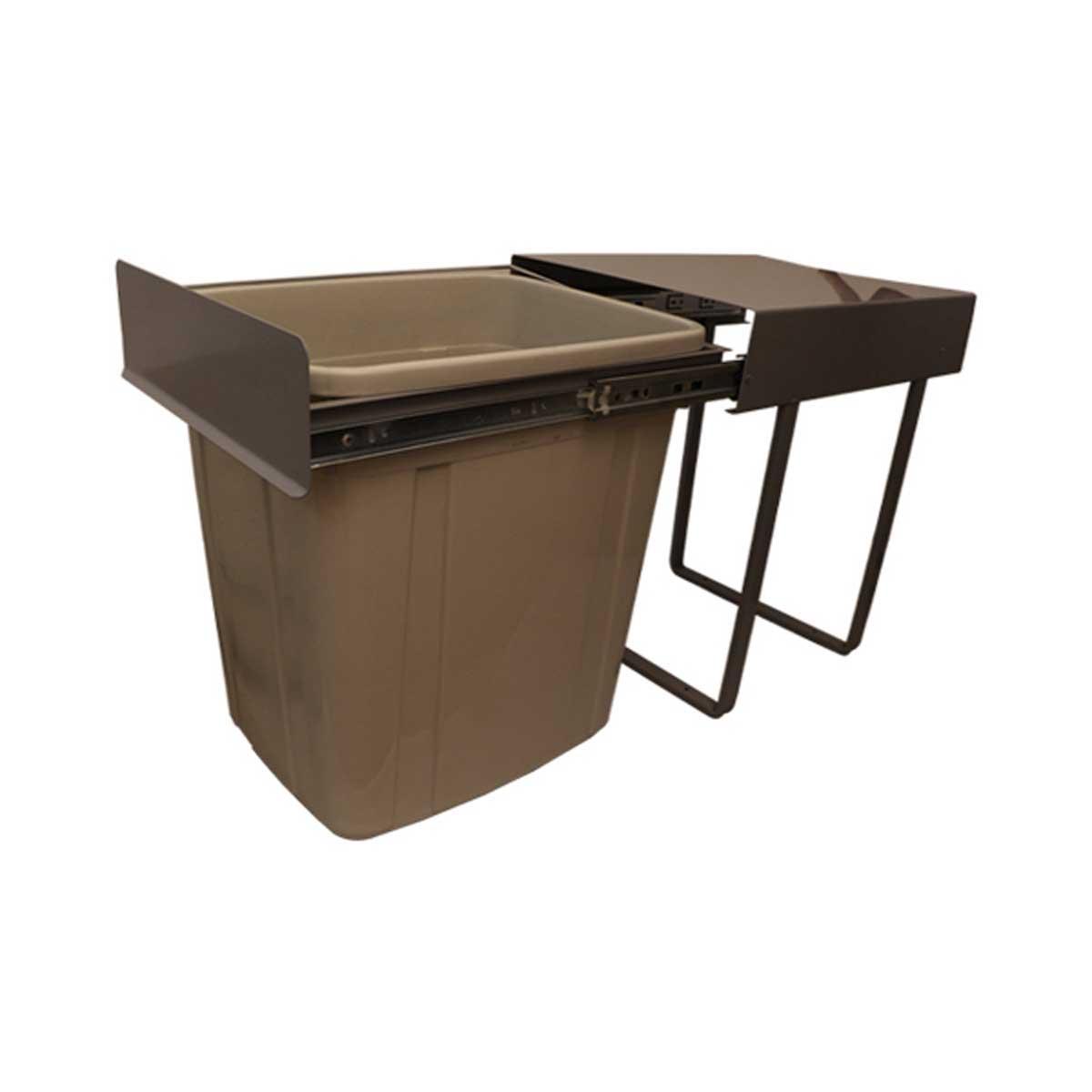 سطل زباله کابینتی مدل کلاسیک 01 گنجایش 35 لیتر