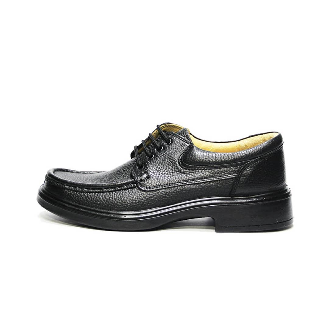 قیمت خرید کفش مردانه فرزین کد sbm 034 رنگ مشكي اورجینال