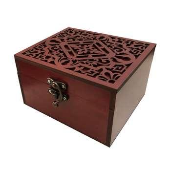 جعبه هدیه چوبی مدل j55