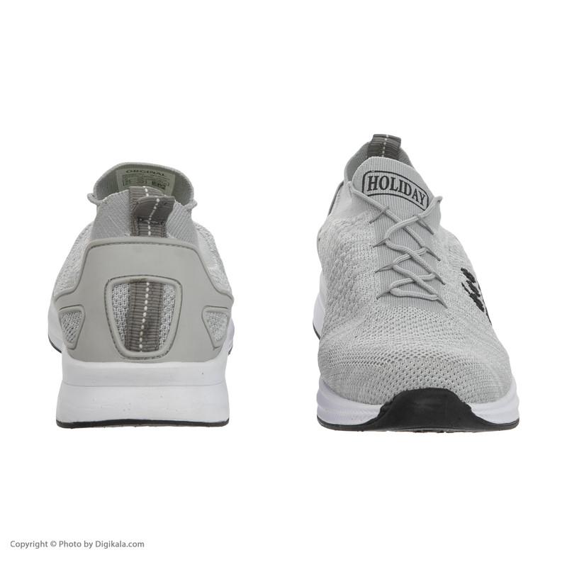 کفش ورزشی مردانه هالیدی مدل 244413-Grey