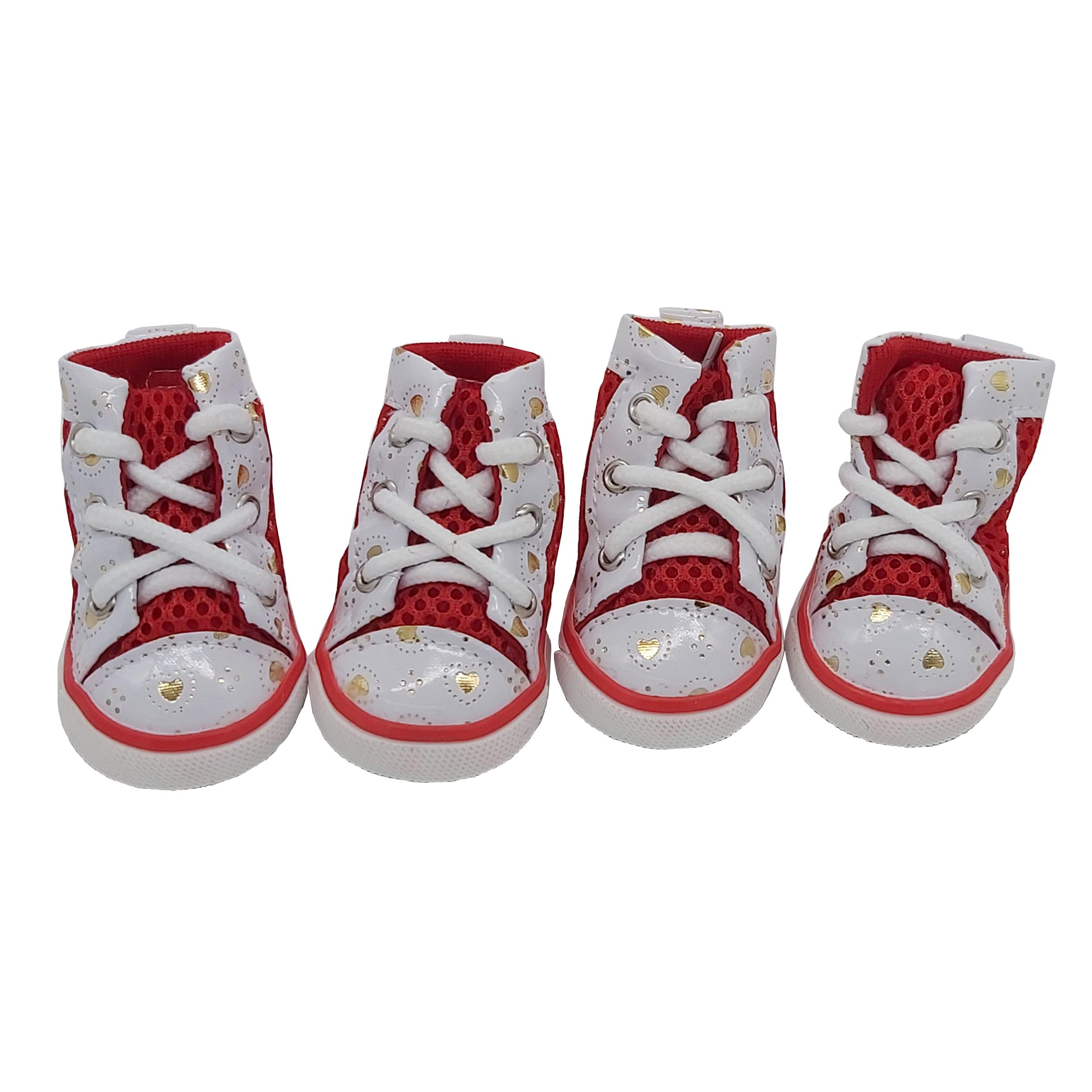 کفش سگ مدل SR1 سایز 3 بسته ۴ عددی
