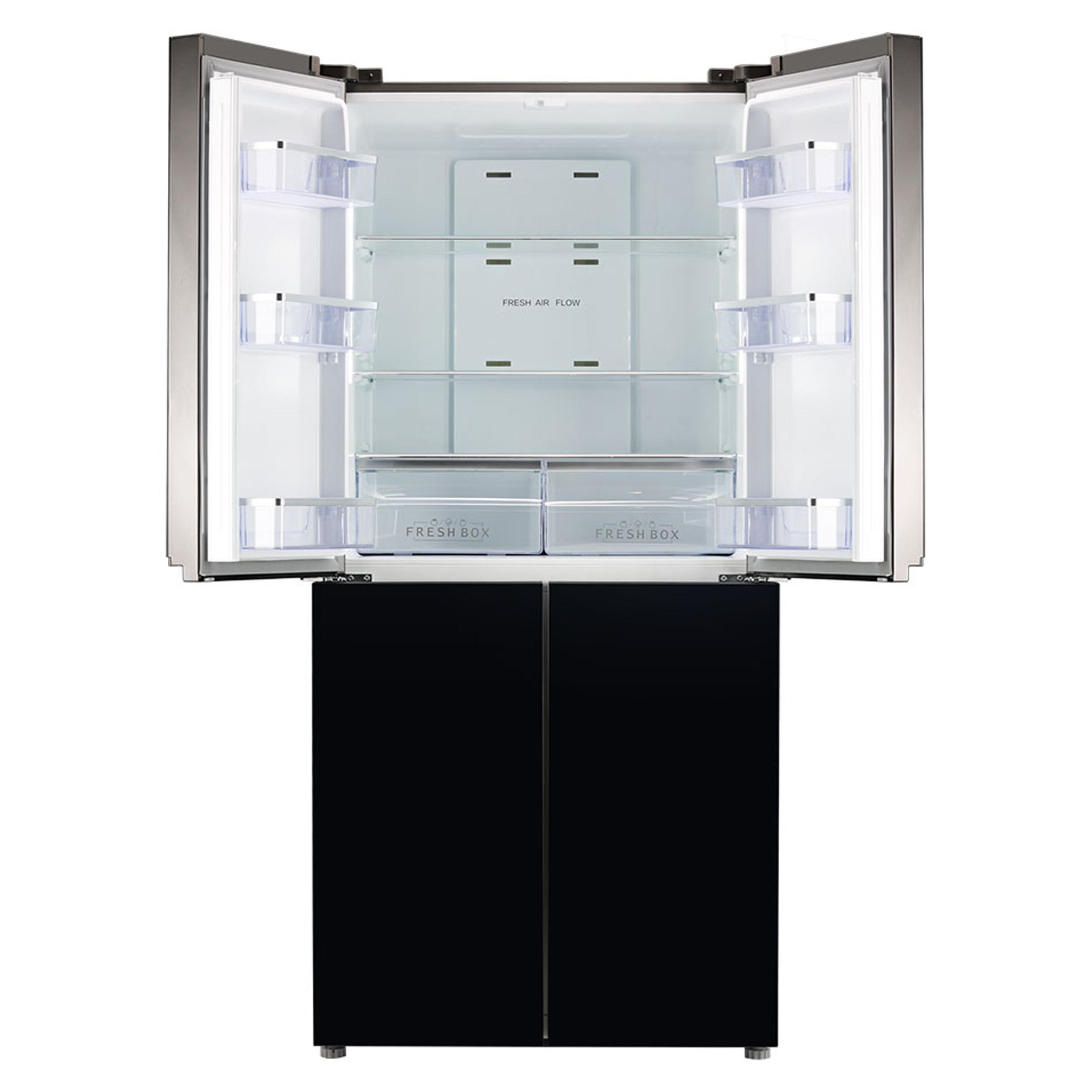 یخچال و فریزر ساید بای ساید جی پلاس مدل GSS-J906BG