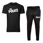ست تیشرت و شلوار مردانه طرح police کد 0062