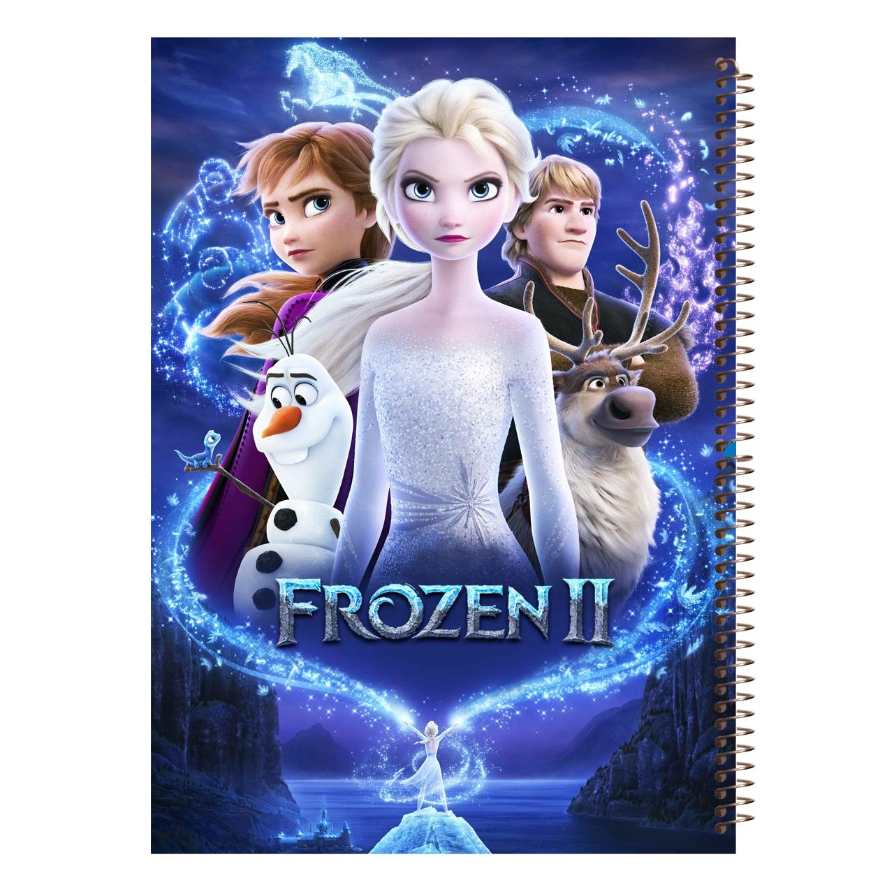 دفتر نقاشی مجنتا طرح Frozen کد 83
