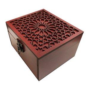 جعبه هدیه چوبی مدل j63