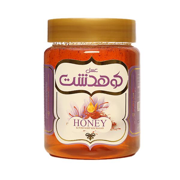 عسل زعفرانی کوهدشت - 600 گرم