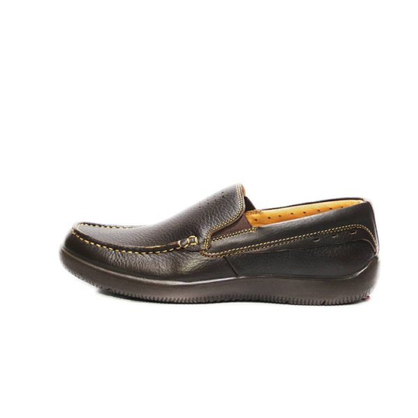 کفش روزمره مردانه فرزین کد KKB 0008 رنگ قهوه ای