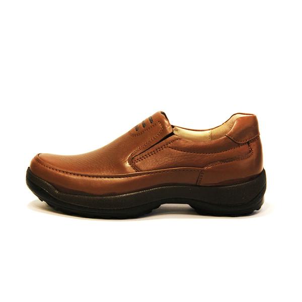 کفش روزمره مردانه فرزین کد MKW 0001 رنگ گردویی