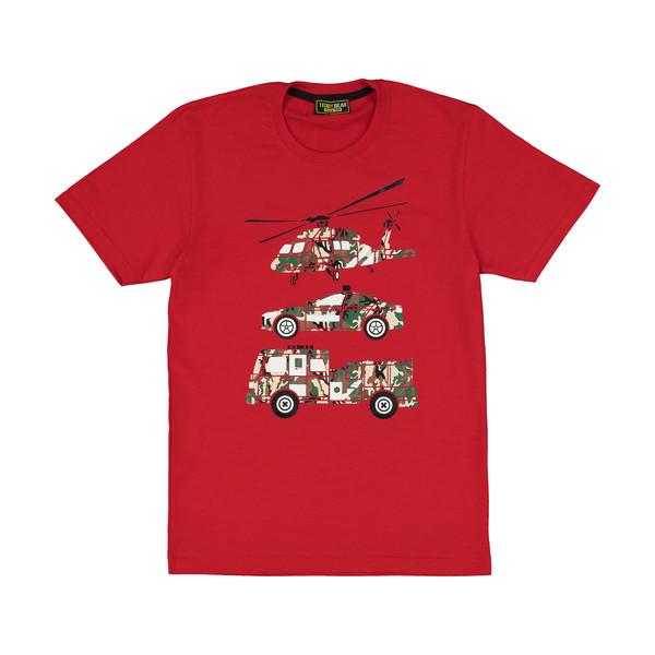 تی شرت پسرانه خرس کوچولو مدل 2011132-72