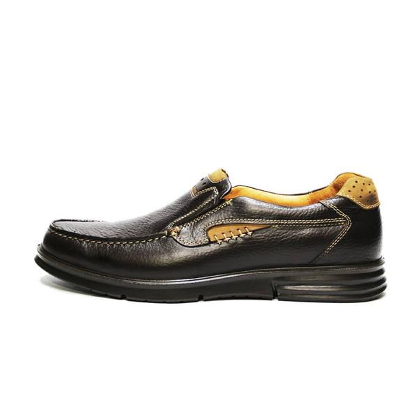 کفش روزمره مردانه فرزین کد PLKB 0011 رنگ قهوه ای
