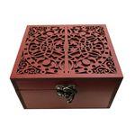 جعبه هدیه چوبی مدل j67