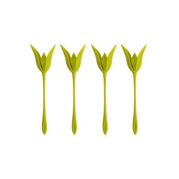 نگهدارنده دستمال سفره طرح گل بسته ۶ عددی