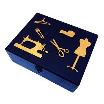 جعبه لوازم خیاطی کدN2025
