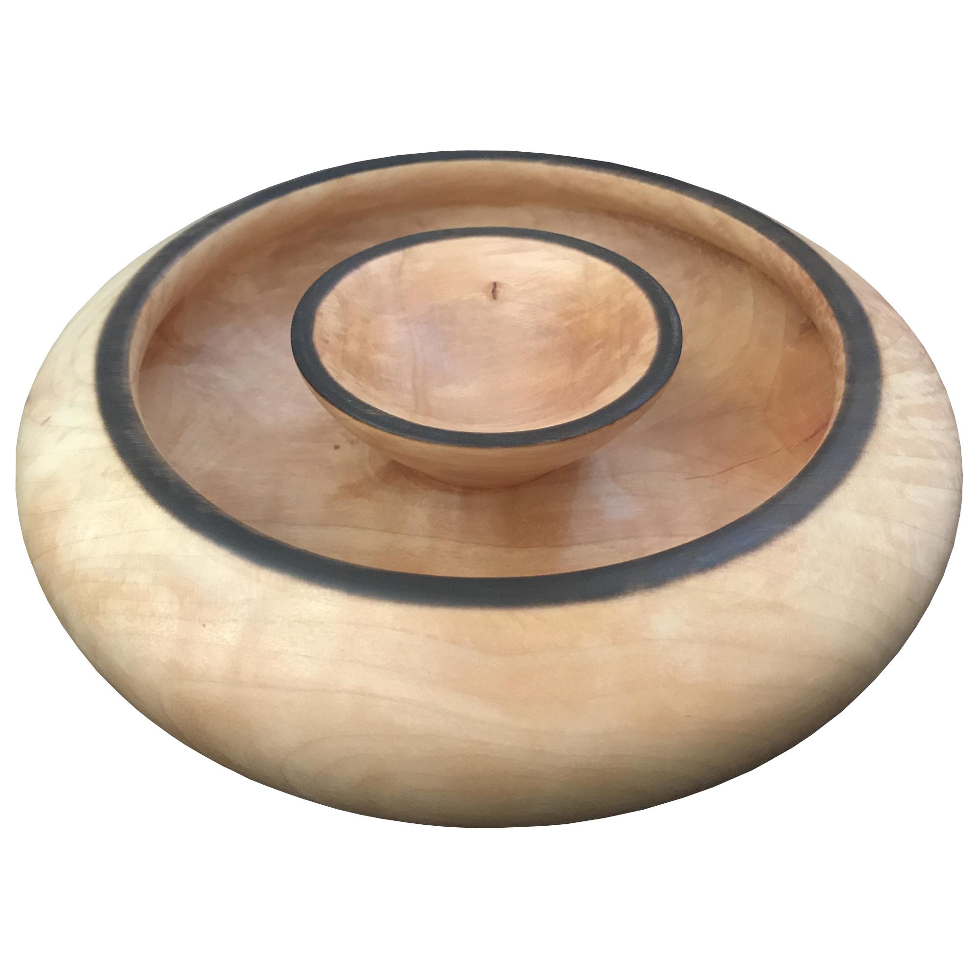 خرید                      کاسه چوبی کد 122