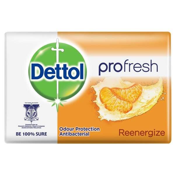 صابون ضد باکتری دتول مدل Profresh Re-energize کد 3060666 وزن 65 گرم