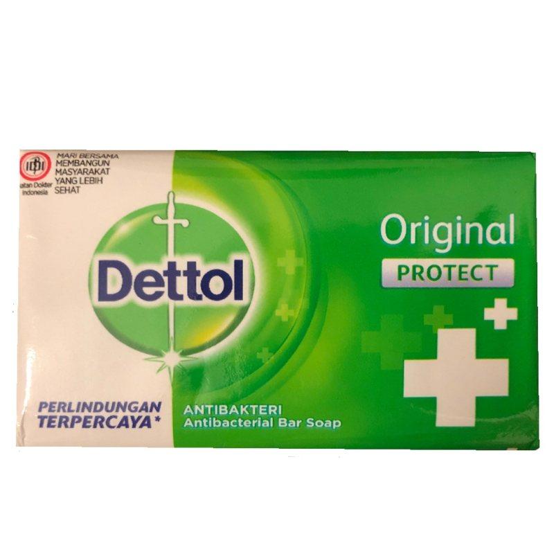 صابون ضدباکتری دتول مدل Original protect + کد 3083299 وزن 65 گرم بسته 4 عددی