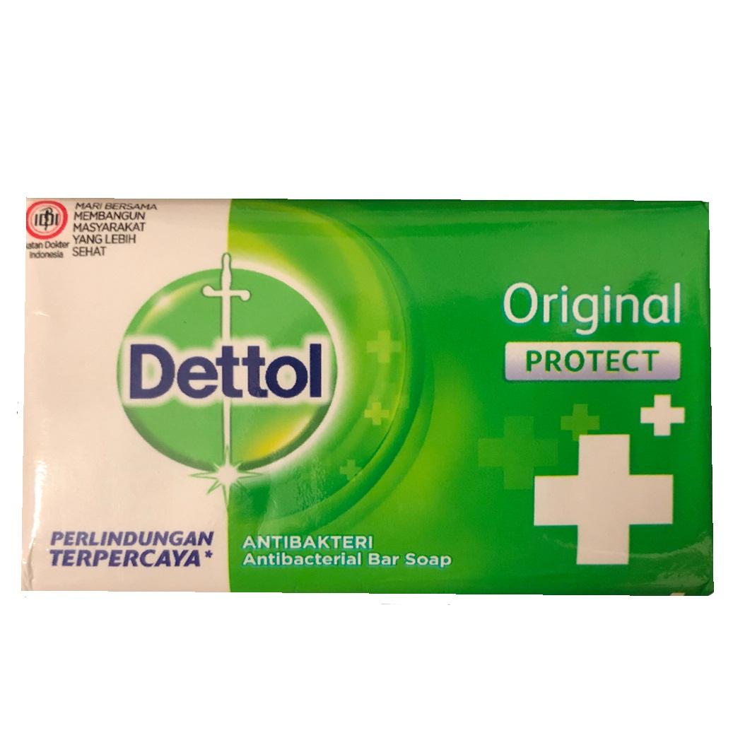 صابون ضدباکتری دتول مدل Original protect + کد 3083299 وزن 65 گرم