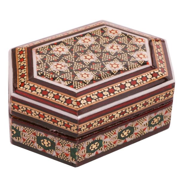 جعبه جواهرات خاتم کاری کد 889