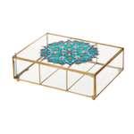 شکلات خوری شیشه ای مدل Marmar3-Vit کد RM2028