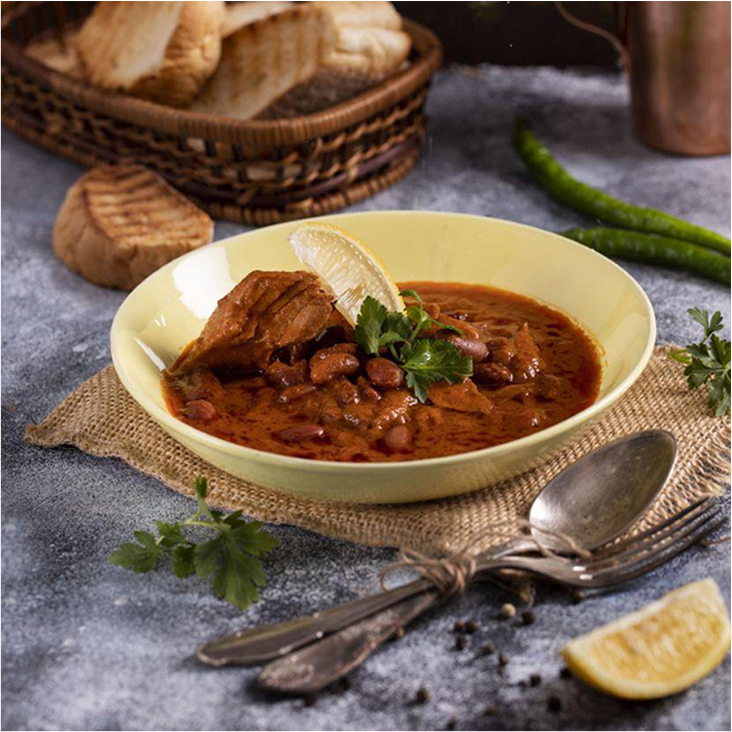 کنسرو ماهی تون لوبیا چیتی تحفه - 230 گرم