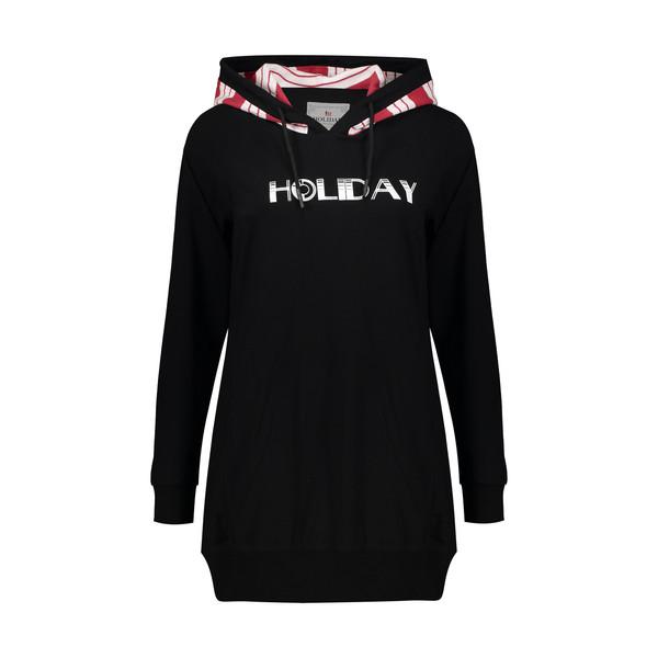 هودی ورزشی زنانه هالیدی مدل 804015-Black