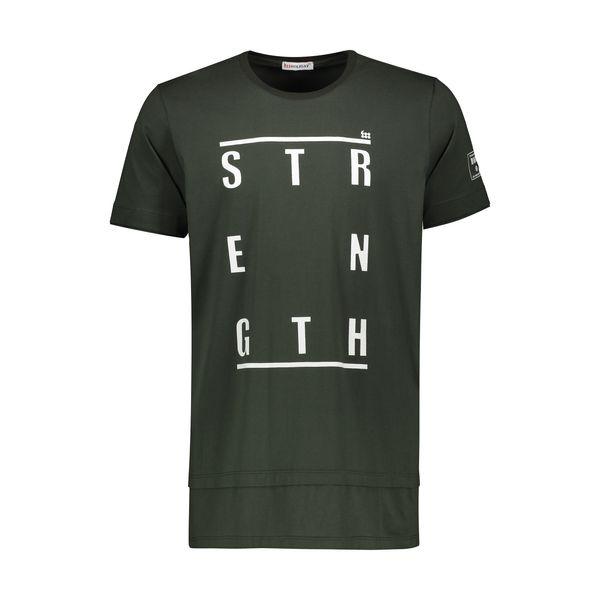 تی شرت ورزشی مردانه هالیدی مدل 807104-Dark Green