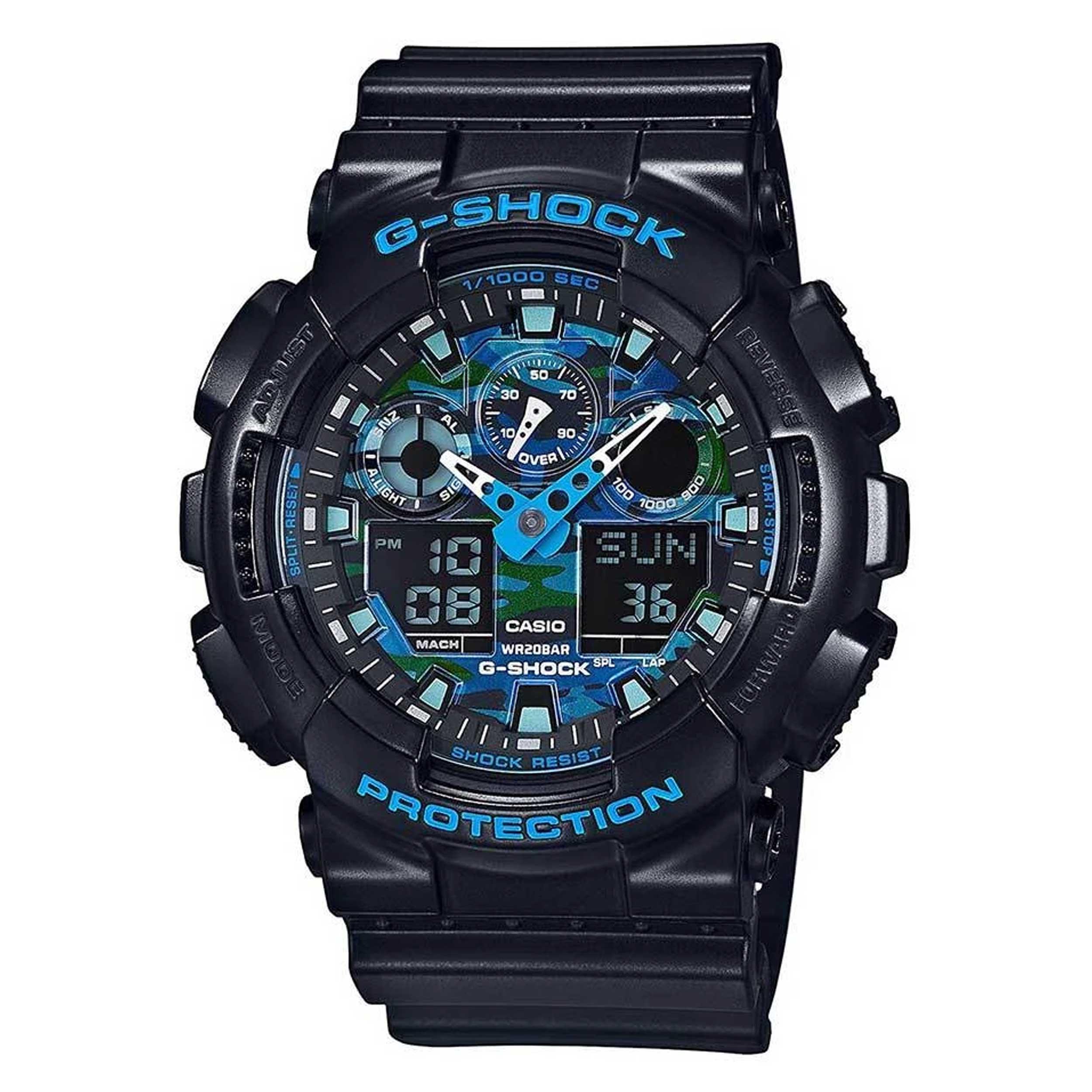 قیمت و خرید                      ساعت مچی عقربه ای مردانه کاسیو مدل GA-100CB-1ADR