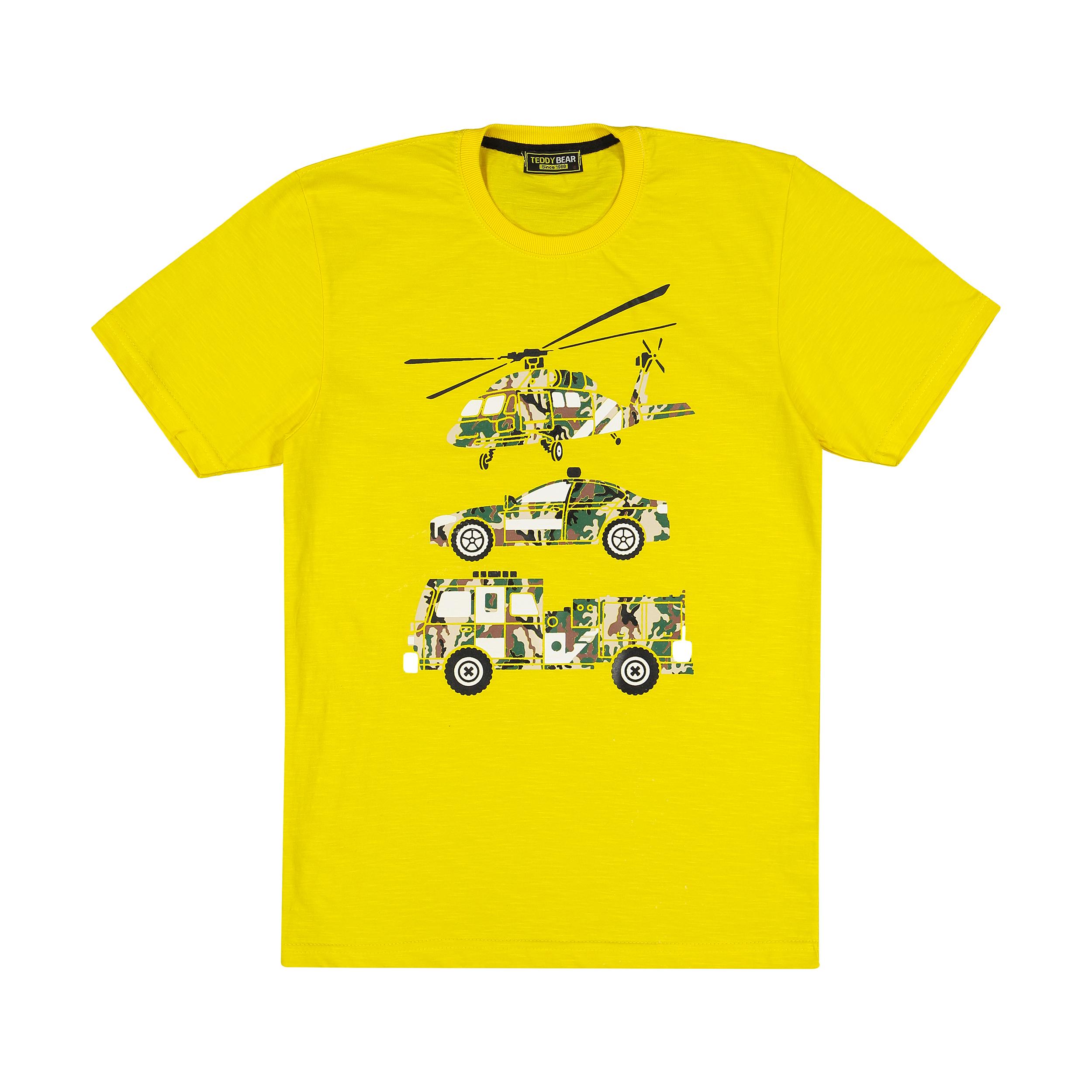 تی شرت پسرانه خرس کوچولو مدل 2011132-16