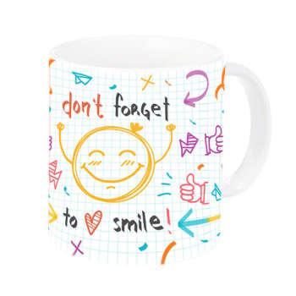 ماگ طرح لبخند کد 0026