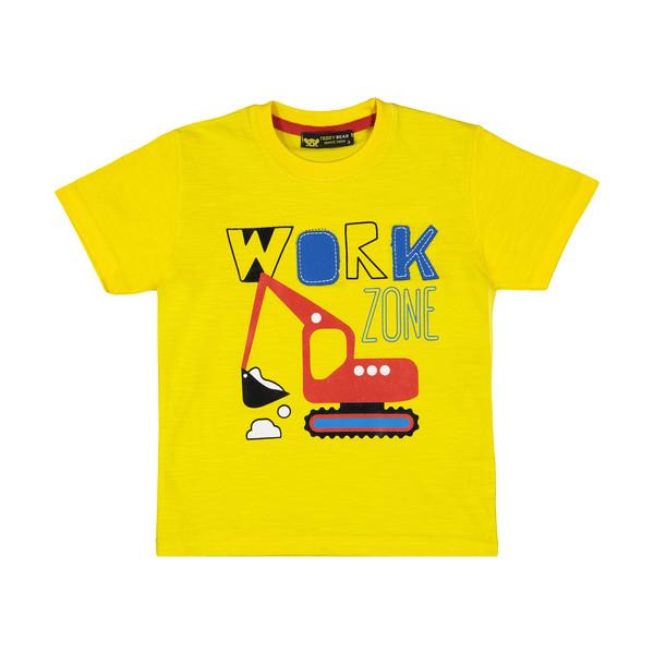 تی شرت پسرانه خرس کوچولو مدل 2011135-16