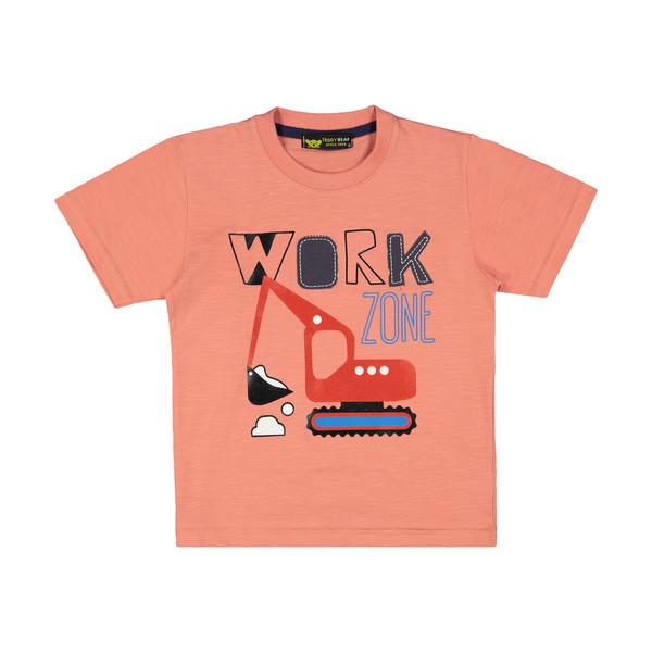 تی شرت پسرانه خرس کوچولو مدل 2011135-86