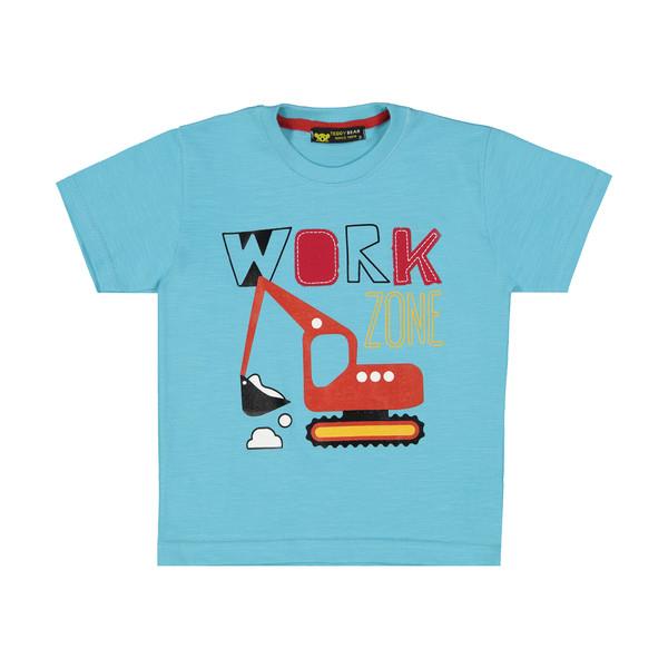 تی شرت پسرانه خرس کوچولو مدل 2011135-50