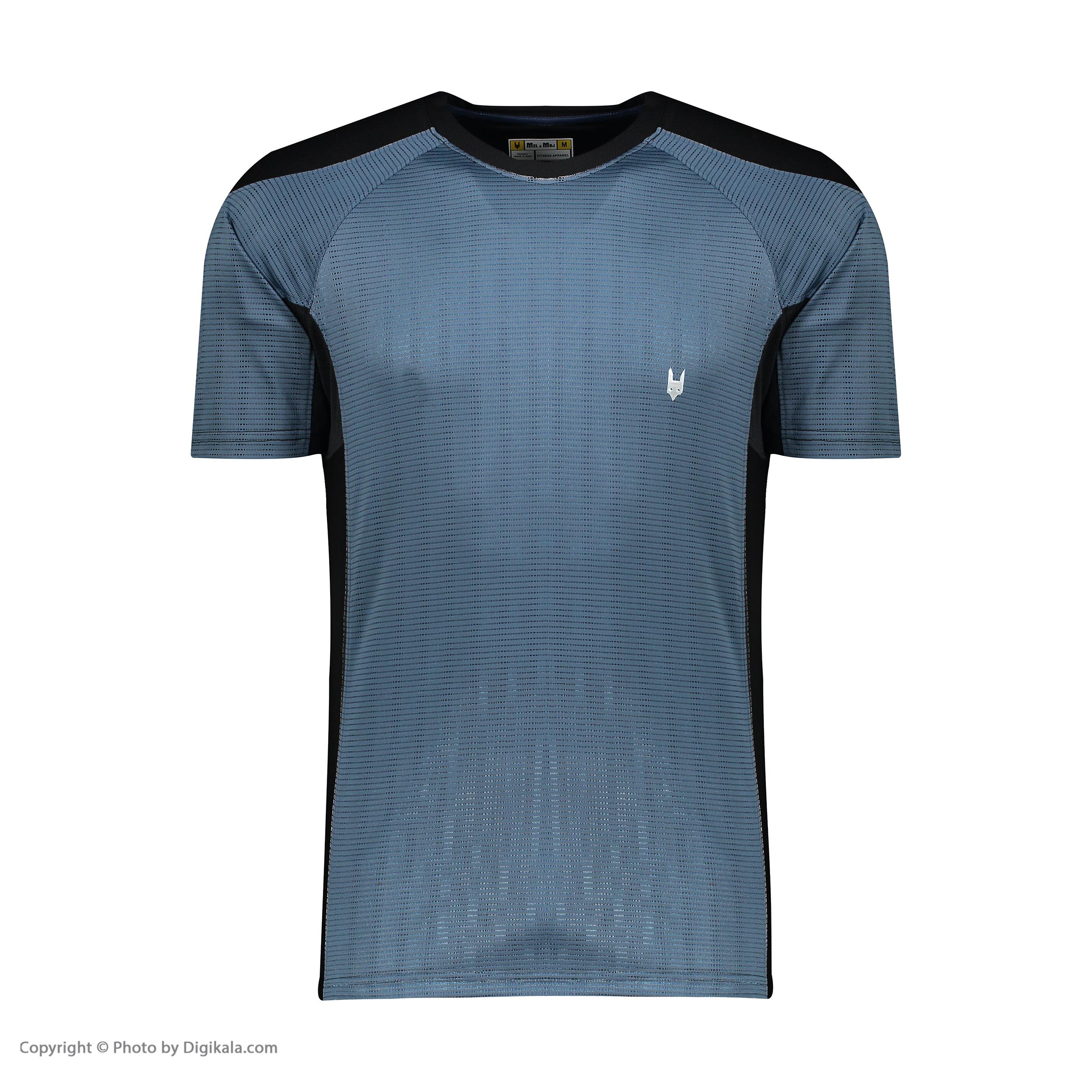 تی شرت مردانه مل اند موژ کد M06296-104 -  - 1