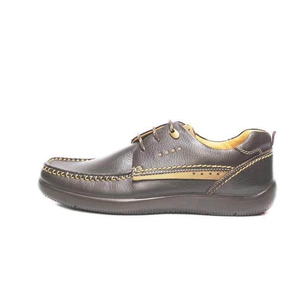 کفش روزمره مردانه فرزین کد kpbb 017 رنگ قهوه ای