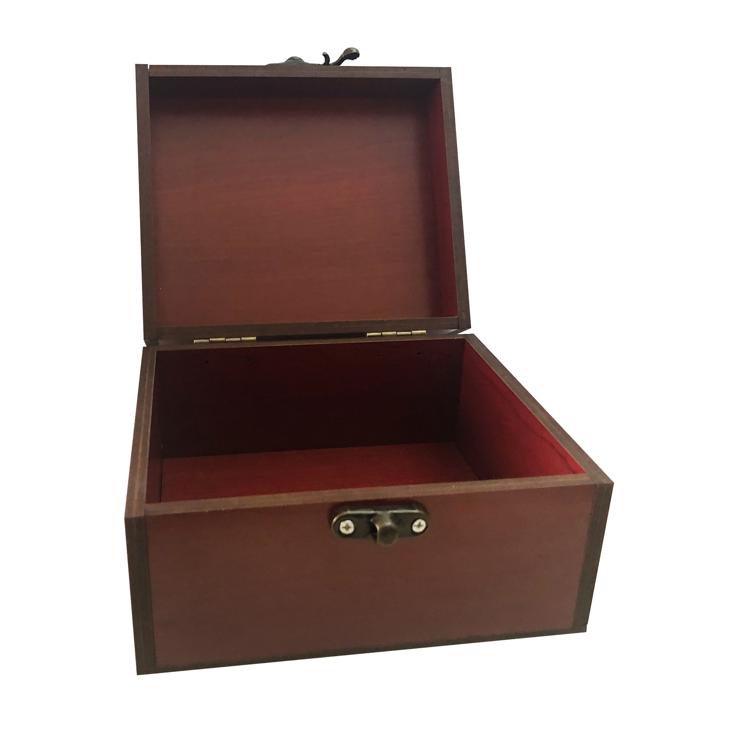 جعبه هدیه چوبی مدل j82