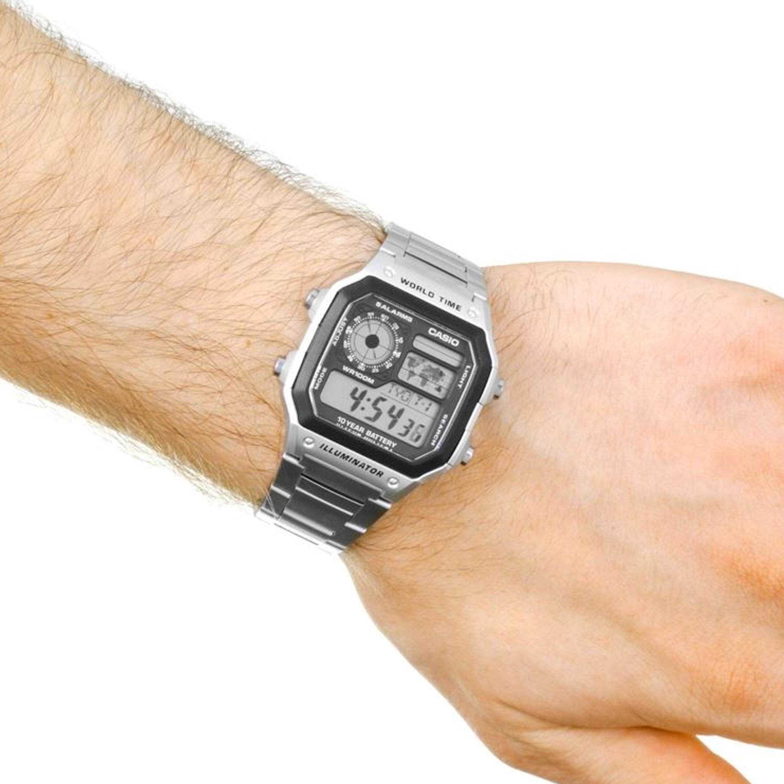 خرید                                     ساعت مچی دیجیتالی  کاسیو مدل AE-1200WHD-1AVDF
