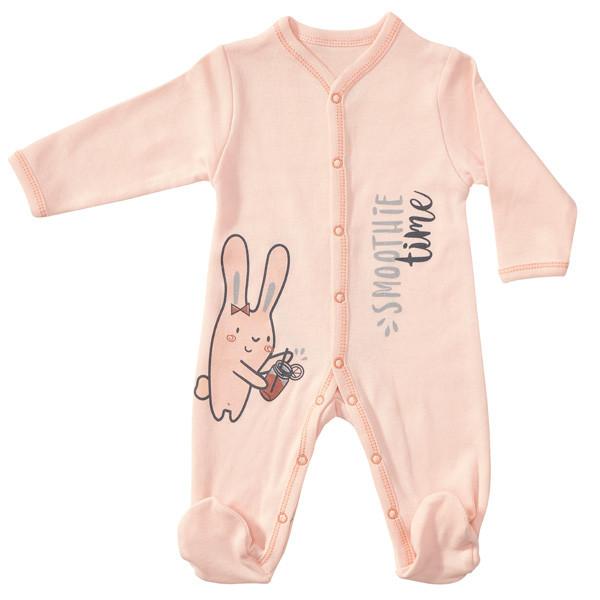 سرهمی نوزادی دخترانه پولونیکس طرح اسموتی کد 05
